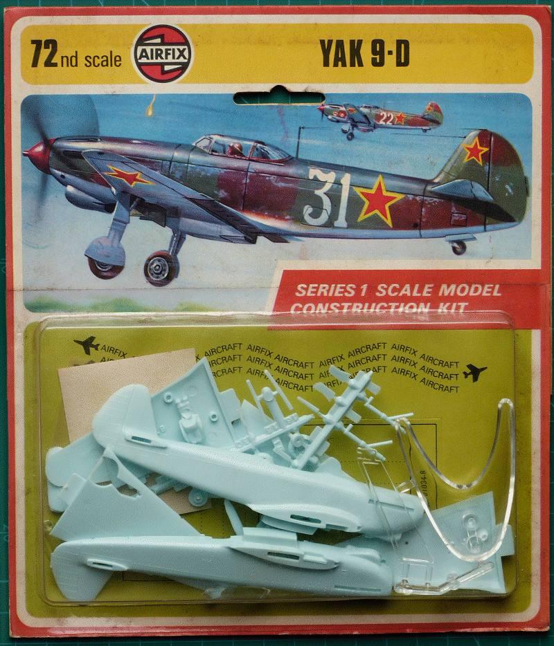 AIRFIX 61034-8 1//72 YAK-9D